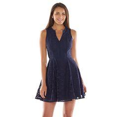 LC Lauren Conrad Lace A-Line Dress - Women's