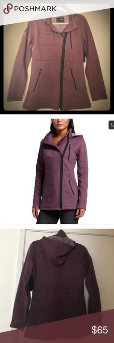 Hurley womens jacket Hurley winchester fleece purple shade jacket. New with tags. Perfect condition. Smoke free home. Hurley Jackets & Coats