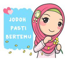 Muslimah yang satu ini kembali lagi dengan stiker baru yang dapat kamu gunakan sehari-hari, Ayo hiasi ruang chat kamu dengan ekspresinya yang imut dan kekinian.