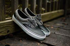 Vans Era 'Wool Leather' Excalibur Grey & Black - EU Kicks: Sneaker Magazine