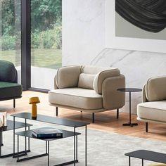 Blue Living Room Decor, Living Room Interior, Vintage Furniture Design, Sofa Furniture, Pipe Furniture, Modern Furniture, Sofa Inspiration, Futuristic Furniture, Chair Design