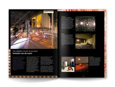 TBI Corporate Magazine Zone by Edwin van Praet, via Behance