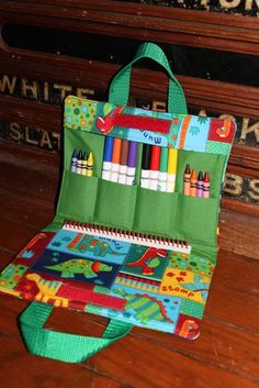 Items similar to Dinosaurs Squared -Art tote and Children's Carry All-Travel Art Supply Bag on EtsyGadgets just like Squared Dinosaurs - Tote Artwork and All-Journey Artwork Su Please visit our website forArt Supplies - Think You Have No Talent For Arts A Sewing Art, Sewing Crafts, Sewing Projects, Art Projects, Sac D'art, Square Art, Diy Couture, Art Bag, Fabric Bags