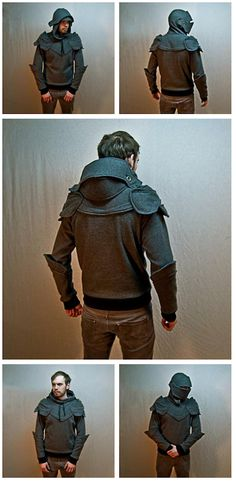 Grey Knight Armored Hoodie by SOFworks on etsy