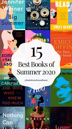 The 15 Best Books of Summer 2020 — Books, Brunches & Booze Book List Must Read, Book Lists, Book Club List, Reading Lists, Got Books, Book Club Books, Book Nerd, Read Books, Books To Read For Women