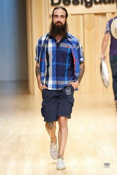 #Men's wear   Desigual   Spring Summer 2015 #Moda Hombre