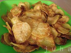 Kouzelné chvilky...: Domácí smažené brambůrky (Chipsy)