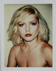 "Debbie Harry by Andy Warhol /  ""Warhol, an American dream"" coming soon to Art Democracy."