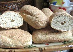 Bagett - Ch csökkentett, gluténmentes | Kissné Zilahi Katalin receptje - Cookpad receptek Bread, Food, Brot, Essen, Baking, Meals, Breads, Buns, Yemek