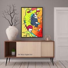 Mural Painting, Mosaic, Digital Art, Wall Art, Abstract, Prints, Murals, Wall Paintings, Mosaics