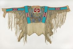 Crow Indians, Plains Indians, Native American Shirts, American Indians, Native Beadwork, Bead Loom Bracelets, Tribal Patterns, Native Indian, Sacred Art