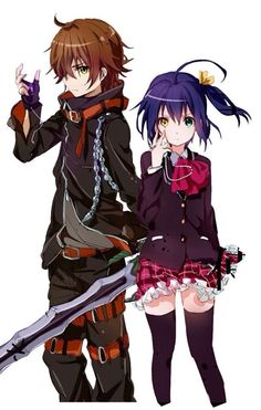 Dark Flame Master and Rikka