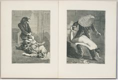 Max Ernst Une Semaine de bonté ou les sept éléments, Capitaux 1934. (Collages executed 1933-1934).