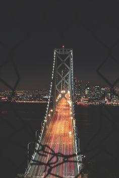 San Francisco Feelings - Bay Bridge by Jordan Winey