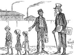 Political cartoons show just how unfair some things are in our nation through their satirical nature. This specific cartoon exemplifies how big monopolies were able to take away peoples rights and use them for their own benefits. It also exemplifies the use of child labor, but also the poor conditions many workers faced.