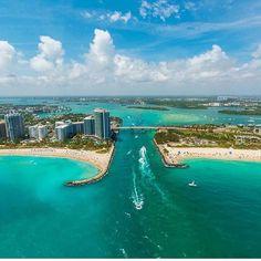 Magic City Miami by @edinchavez #miami #florida #miamibeach #sobe #southbeach #brickell #miami