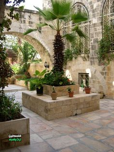 The traditional houses in Old Town - Jerusalem - Palestine