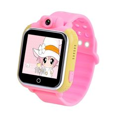 KIDEAZ 3G Kids GPS Smart Watch Anti-Lost Tracker - Color Touch Screen & Camera - By Epiktec