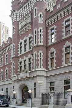 ABC Studios - former armory on West 66th Street between Columbus Avenue and Central Park West
