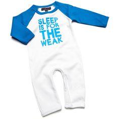 Sleep is for the weak Baby Romper Suit £15.99