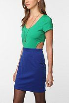 Lucca Couture Cutout Ponte Dress