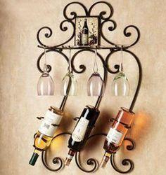 Iron Wine Racks
