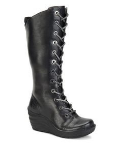 Another great find on #zulily! Black Culture Leather Boot by Bionica by Softspots #zulilyfinds