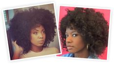 Two Foxy Afro Tutorials For Natural Hair  Read the article here - http://www.blackhairinformation.com/by-type/natural-hair/two-foxy-afro-tutorials-natural-hair/