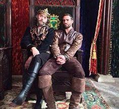 King Richard (Timothy Omundson) and Galavant (Joshua Sasse)