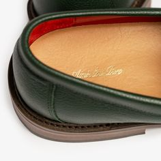 Aime Leon Dore, Penny Loafers, Green, Leather, Loafers, Penny Loafer