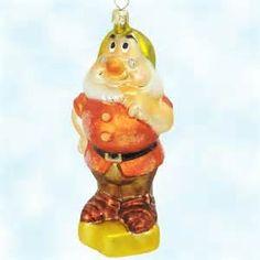 ... Snow White and the Seven Dwarfs, Christopher Radko Christmas Ornaments
