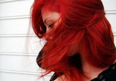 There is something powerfully mysterious with wind blowing through red hair.  Some would say alluring even.