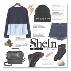 """""""She(In) Style!"""" by josi-heart ❤ liked on Polyvore featuring StyleNanda, Calvin Klein, Jeffrey Campbell, Under One Sky, Urban Decay, Gucci and NARS Cosmetics"""
