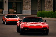 Panthers on the Prowl - A Pair of De Tomaso Panteras