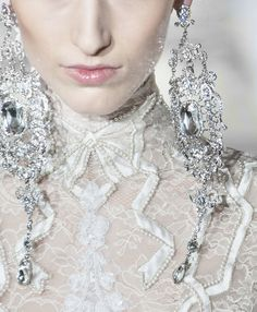 Alexis Mabille | Spring 2014 | Earrings | Accessories