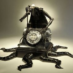 Sculptures Built from Repurposed Objects and Hammer-Formed Steel by Greg Brotherton