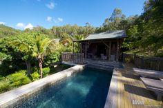 Our bungalow at Lakaz Chamarel