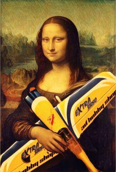 Mona Lisa - Holding UAV