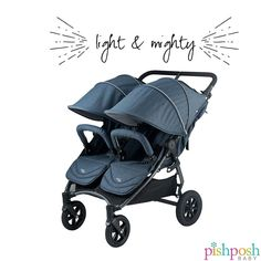 Personalized Service & Quick Shipping on the Valco Baby Neo Twin 2019 only Baby! Double Strollers, Baby Strollers, City Stroller, All Terrain Tyres, Best Brand, Giveaways, Twins, December, Smooth