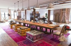 New York Loft-01-1 Kind Design...outrageous  mix of style in this loft