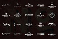 20 Minimal Logos vol. 03 by BART.Co Design on @creativemarket