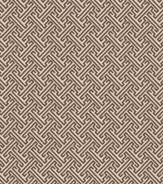 Home Decor Upholstery Fabric-Crypton Thatcher-Cocoa-Curtains?