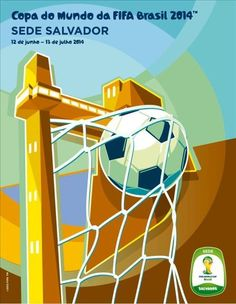 Cartaz sede Salvador - Copa 2014