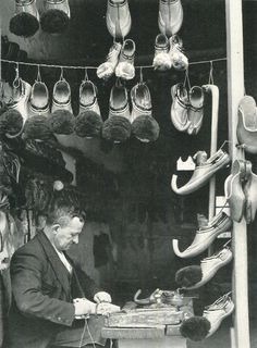 Items similar to Anatolia Shoemaker Cobbler Photo Print Turkey Greece Ethnography Tsaruchia Ioannina Athens Traditional Costume Shoes Vintage on Etsy Old Images, Old Pictures, Old Photos, Vintage Photos, Greece Pictures, Greece History, Old Greek, Greek Art, Greek Culture