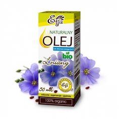 Olej Lniany 50 ml tłoczony na zimno ETJA