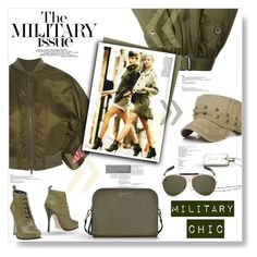 """Military Chic..."" by desert-belle ❤ liked on Polyvore featuring La Femme, Diesel, Dsquared2, Givenchy, Marc by Marc Jacobs and Tiffany & Co."