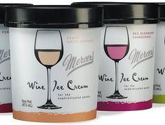 Wine ice cream!!! YES PLEASE.