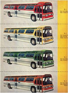 GM New Look Bus Brochure 1959
