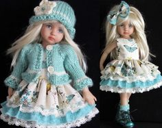 "Made for girl effner little darling 13"" dolls. Boy effner set is in a seperate listing!! Below is a picture of the matching set for a boy effner little darling in a seperate listing."