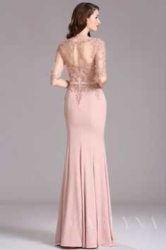 Carlyna Blush Illusion Beaded Applique Formal Dress with Sweetheart Trendy Dresses, Elegant Dresses, Nice Dresses, Formal Dresses, Fashion Dresses, Dress Brokat, Kebaya Dress, Lace Bridesmaids, Bridesmaid Dresses